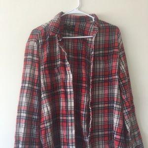 Madewell lightweight flannel NWOT